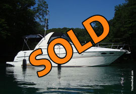 1999 SeaRay 290 Sundancer Aft Cabin Cruiser For Sale on Norris Lake TN