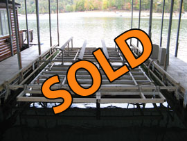 14000lb Econo Boat Lift For Sale on Norris Lake TN
