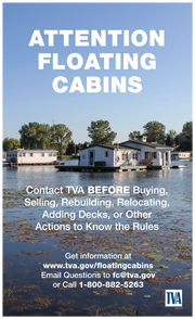 TVA Floating Cabin Information