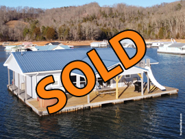30 x 48 Floating Cabin Approx 1348sqft 4 Bedroom 2 Bath For Sale on Norris Lake Tennessee at Flat Hollow Marina