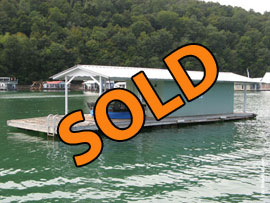 10 x 21 4-B Floating Home 210sqft For Sale on Norris Lake