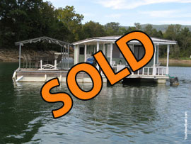 13 x 24 Floating Cottage For Sale on Norris Lake TN