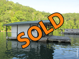 14 x 16 Floating Cabin Approx 230sqft For Sale on Norris Lake Tennessee at Sequoyah Marina