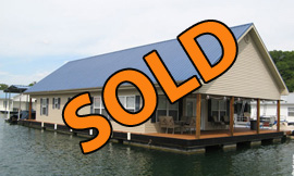 28 x 50 Floating House - 3 Bedroom plus loft and 2.5 Baths For Sale on Norris Lake Tennessee