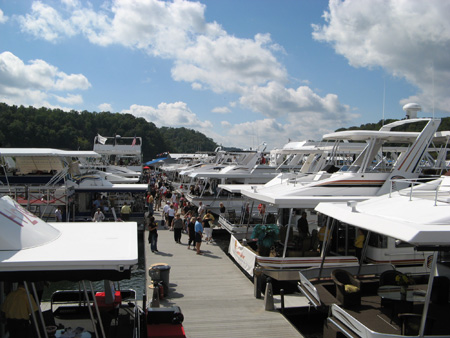 The Crowd at the On Water Houseboat Expo